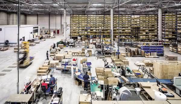 Geteiltes Warehouse, doppelte Effizienz
