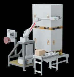 Paletten- und Produktetikettierung