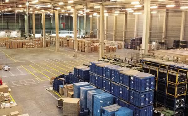 Shared Logistics Center in Hildesheim - Foto: Schenker Deutschland AG