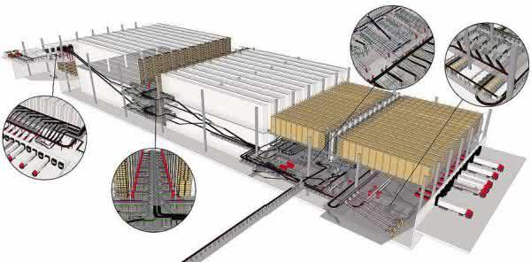 Modell des von TGW für Mango