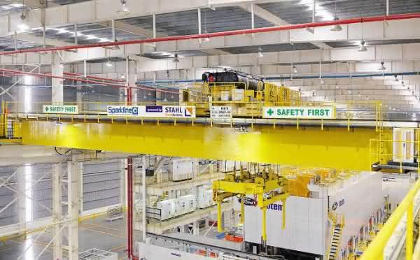 SHW 8 von Stahl CraneSystems