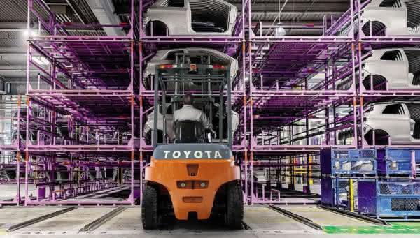 E-Stapler der Baureihe Traigo von Toyota
