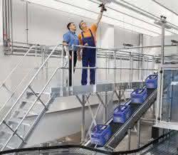 Arbeitssicherheit im Fokus bei Günzburger Steigtechnik