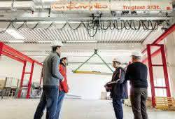 Die Welt der Kran- und Hebetechnik auf 1.000 m²