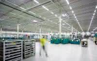 Logistikzentren auf Wunsch mit Solaranlage