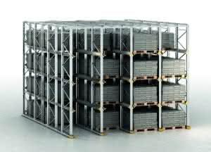 Das neue Einfahrregalsystem von Bito soll eine Raumnutzung von 90 Prozent garantieren – eine effektivere und dadurch wirtschaftlichere Lagerung ist kaum möglich.
