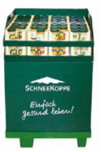 Behälter/Boxen/Paletten: Der grüne Pool