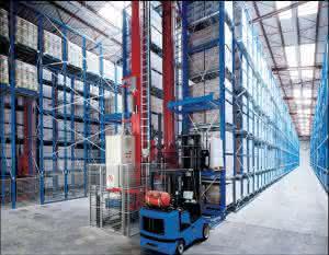 Outsourcing: Logistik-Dienstleister: Outsourcing für Waschmittel-Lager