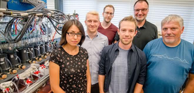 Das Bochumer Team: Dulce Morales, Steffen Cychy, Stefan Barwe, Dennis Hiltrop, Martin Muhler und Wolfgang Schuhmann (von links).