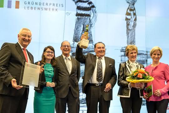 Walter Herrmann, Pionier der Ultraschalltechnik, für Lebenswerk geehrt