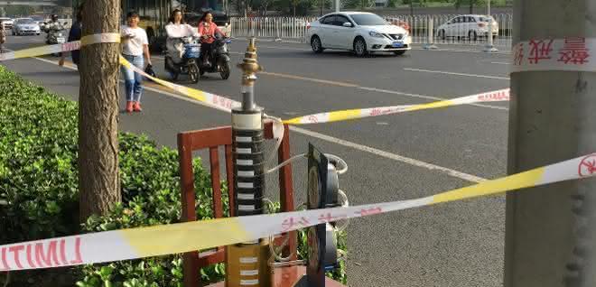 Feinstaubmessstelle in China