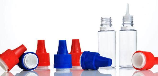 Verschlüsse für E-Liquids