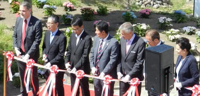 Kawasaik Robotics hat seinen neue EMEA-Zentrale in Neuss eröffnet.