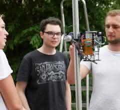 Schunk-Kletterroboter