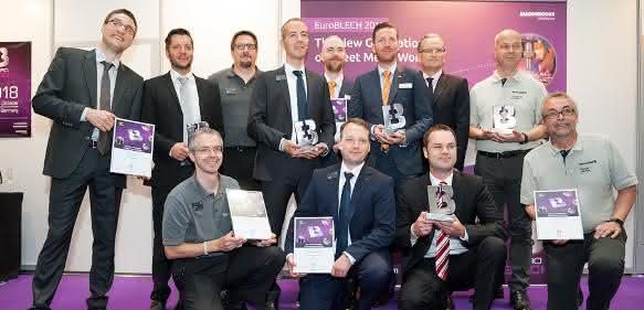 EuroBLECH 2016 Award Winners