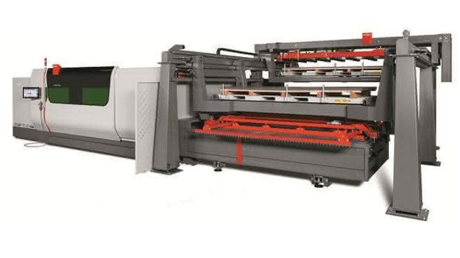 Automatisiertes Laserschneiden