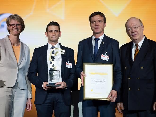 Endress+Hauser gewinnt den Hermes Award