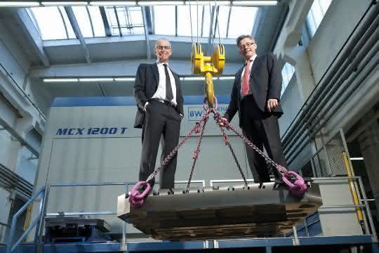 Lothar Schwarzlose und Dr. Benedict Korischem