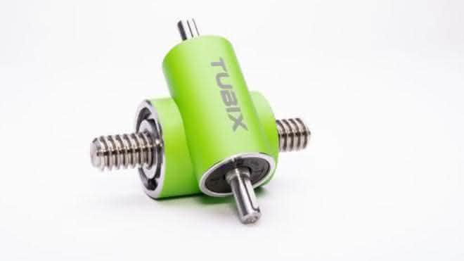 Tubix-Getriebe von Neff