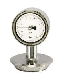 Das mechanische Druckmessgerät von Labom ist autoklavierbar. (Bild: Labom)