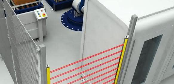 Optoelektronische Sicherheitslösung