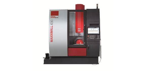 Vertikalfräszentren: Vertikalfräsmaschine für die 5-Seiten-Bearbeitung
