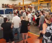 Betriebsführungen durch die Produktionshallen