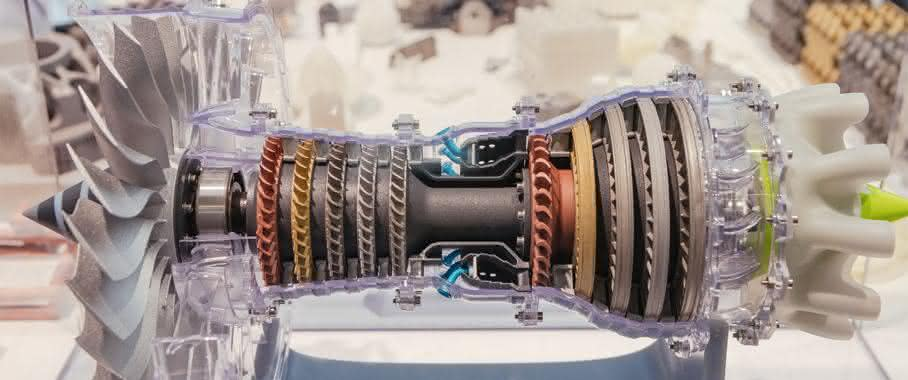 Turbinenmodell