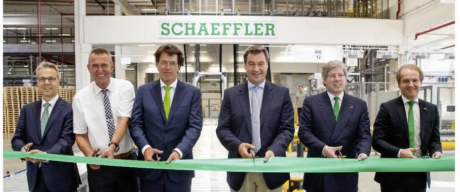 Eröffnung des neuen EDZ von Schaeffler