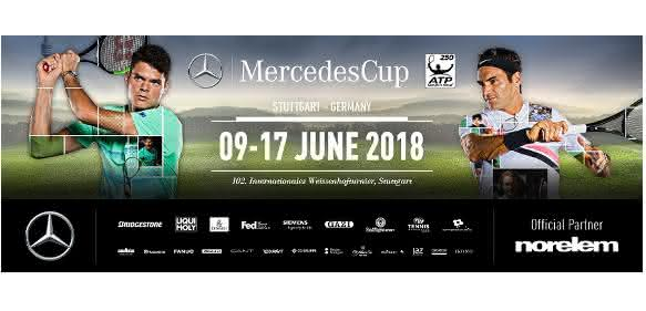 MercedesCup 2018: Norelem: Tennis trifft Technik