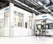 Reinraumsystem der ISO-Reinraumklasse 7