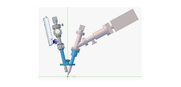 Grafik zu Tandem-SIMS-Analysator