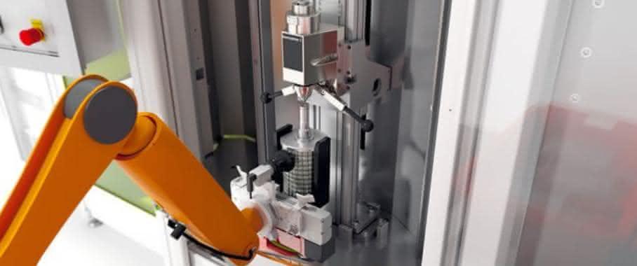 Roboterbestückungsanlage