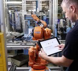 Ability Connected Services werden über die Myrobot-Webseite bereitgestellt