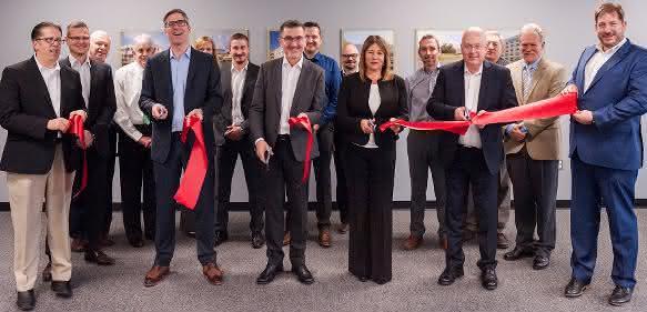 Eröffnung des neuen Office in Detroit