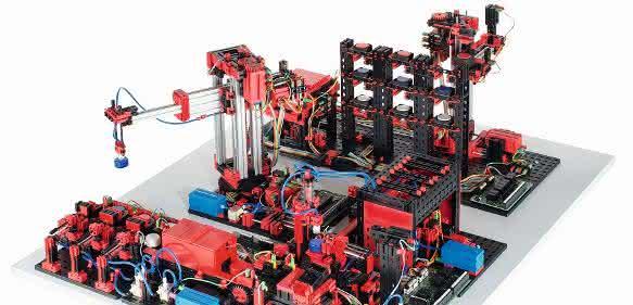 24-Volt-Fabriksimulation