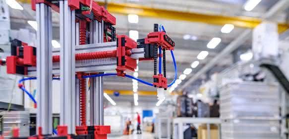 Fabrikmodelle von fischertechnik