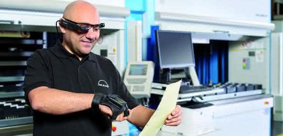 Steuerung der Hänel-Lagerlifte mittels wireless Augmented-Reality-Anwendung