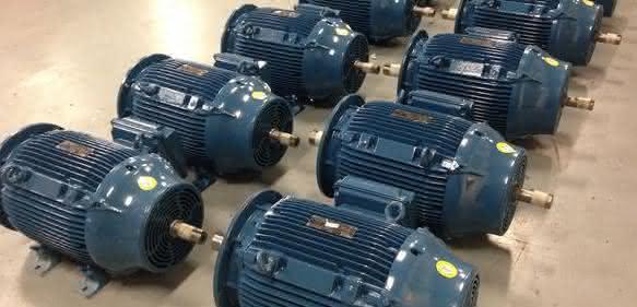 Asynchronmotoren der Baureihe W22