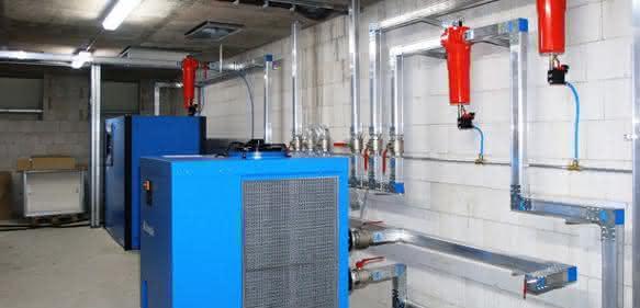 Druckluftverteileranlagen: Luft ablassen überflüssig
