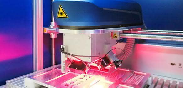Anzeige - Produkt der Woche: Lasermarkierung mit automatischer Objekterkennung