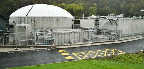 Clearfleau Bioenergie-Anlage für eine Destillerie in Speyside, Schottland