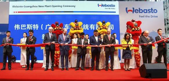 Eröffnungsfeier in Guangzhou