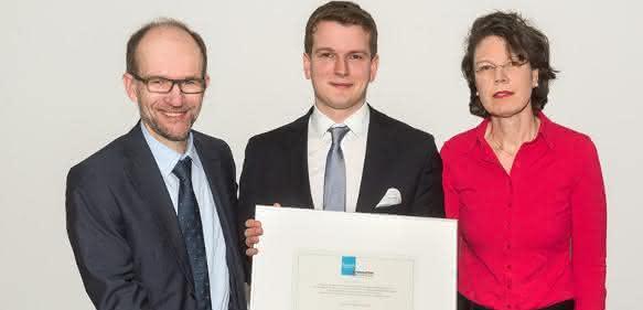 Professor Dr. Alexander Enk, Dr. Julius Brinker und Dr. Irene Rosengarten ...