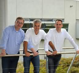 Dr. Wolfgang Schulz, Dr. Rudi Winzenbacher und Dr. Wolfram Seitz