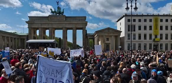 March for Science in Berlin