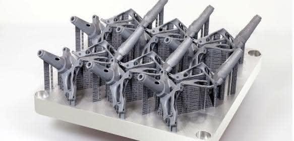 Strukturkomponenten auf einer Grundplatte