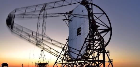 HESS-Teleskop in Namibia
