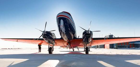Rußpartikeln auf der Spur: Wissenschaftler starten Flugkampagne in Grönland