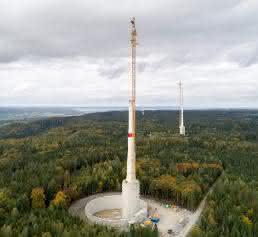 Die höchste Windkraftanlage der der Welt